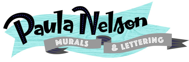Paula Nelson. Charleston Murals and Lettering